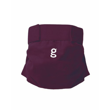 Gdiapers Little Gpant, Gooseberry Purple, Large (26-36 Pounds)