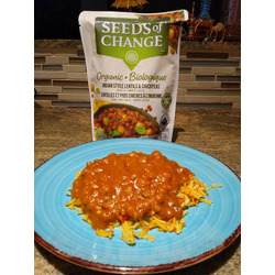 Seeds of Change Indian style lentils & chickpeas