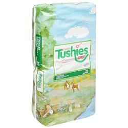 Tushies Diapers, Toddler (27lbs & up), Case Pack, Four - 20 Count Packs (80 Diapers)