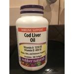 Webber natural cod liver oil