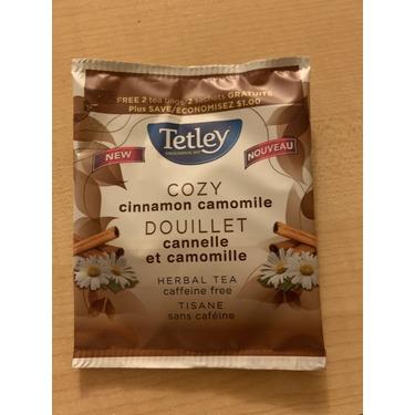 Tetley cozy cinnamon camomile