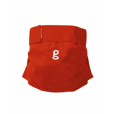 Gdiapers Little Gpant, Grateful Red, Large (26-36 Pounds)