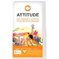 ATTITUDE Baby Diapers, Size 4 (22-37 Pounds), 40-Count  (Pack of 3)