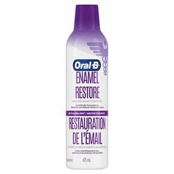 Oral b enamel restore mouthwash
