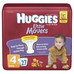 Huggies Supreme Little Movers Diapers, Jumbo Pack, Size 5, 27+ 23 ea