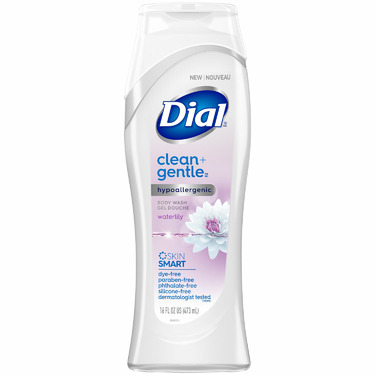 Dial® Clean + Gentle Waterlily Body Wash