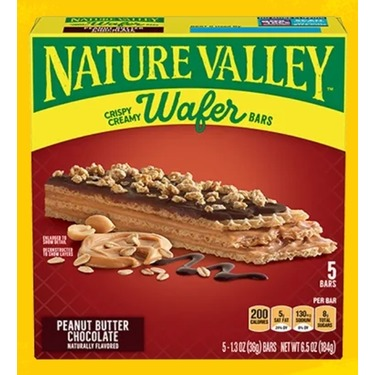 Nature Valley Peanut Butter Chocolate Wafer Bars
