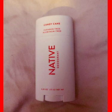 Native Candy Cane Natural Deodorant