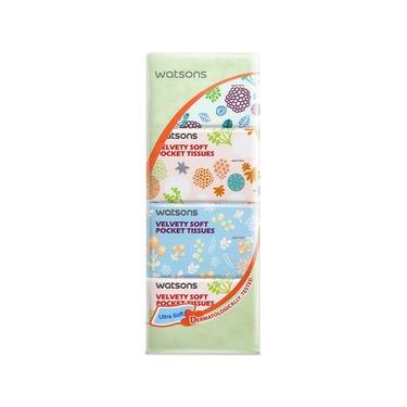 Watson's Malaysia Velvet Soft Pocket Tissue