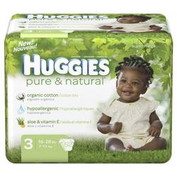 Huggies Pure & Natural Size 3 52ct