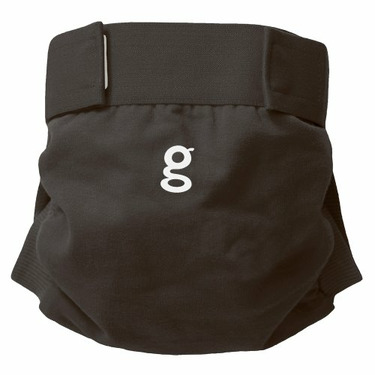 Gdiapers Little Gpant Grubby Knees Gray, Large (26-36 Pounds),