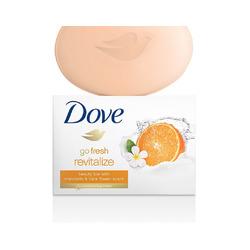 Dove orange bars of soap