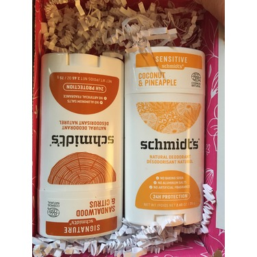 Schmidt's Aluminum Free Coconut + Pineapple Natural Deodorant for Women and Men