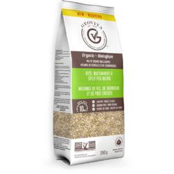 Geovita rice buckwheat and split pea blend