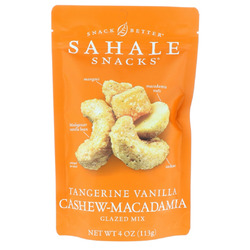Sahale Snacks Tangerine Vanilla Glazed Mix Cashew Macadamia