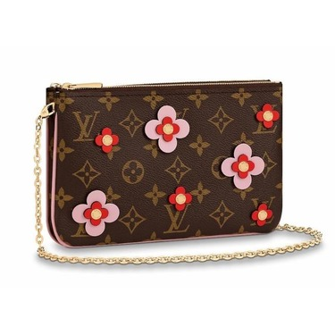 Louis Vuitton Double Zip Pochette