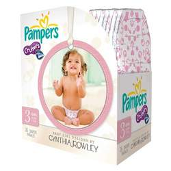 Pampers Cruisers Designer Diapers by Cynthia Rowley Girl - Size 3 (26 count)