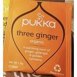 Pukka Three Ginger Organic Tea