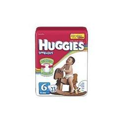 Huggies Snug & Dry Diapers, Jumbo Pack, Size 6, 35+ 23 ea
