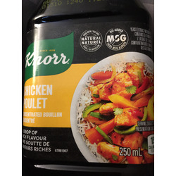 Knorr concentrated bouillon - chicken