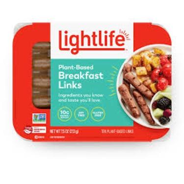 Lightlife Plant Based Breakfast Links