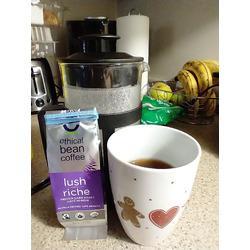 Ethical Bean Fairtrade Organic Coffee, Lush Medium Dark Roast