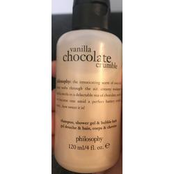 Philosophy Vanilla Chocolate Crumble body wash, shampoo, bubble bath