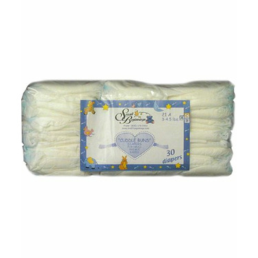 Cuddle Buns Diapers for the 2-5lbs size Preemie baby