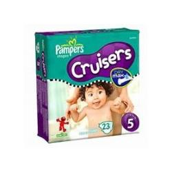 Pampers Cruisers, Size 5, 23-Count (Pack of 6)