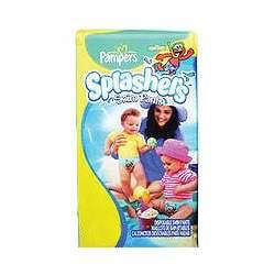 Pampers SPLASHERS Swim Pants, Size 6 (37+lbs 17+kg) 10 Disposable Swim Pants