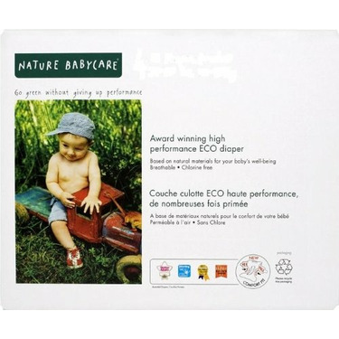 Nature Babycare Diapers Club Pack Size 6 (132 Total Diapers)