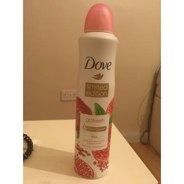 Dove 0% Aluminum Deodorant Pomegranate & Lemon Verbana Spray