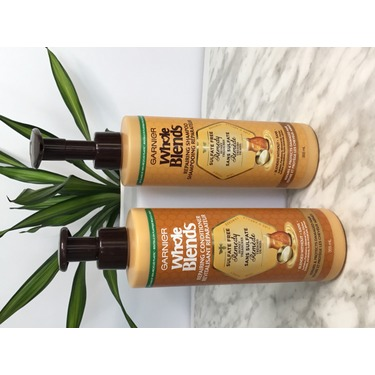 Garnier Whole Blends Sulfate Free Remedy Honey Treasures Shampoo for Damaged Hair