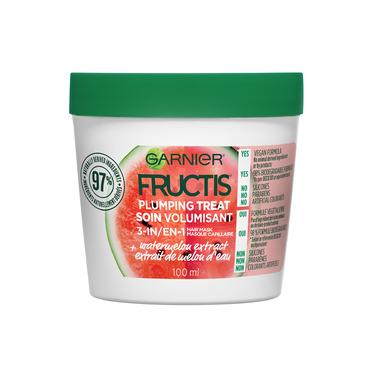 Garnier Fructis Plumping Hair Treat Mask Watermelon Extract