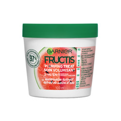 Garnier Fructis Plumping Hair Treat Mask Watermelon Extract