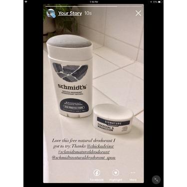 Schmidt's natural deodorant stick