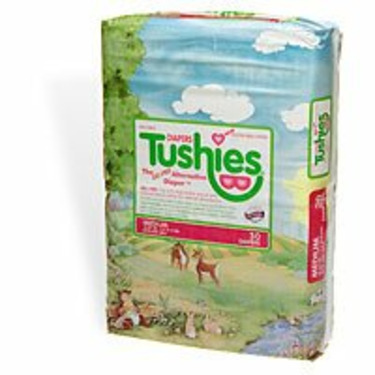 Tushies The Gel-Free Diaper, Medium, 12-24 Lbs. 30 ea