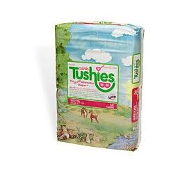 Tushies The Gel-Free Diaper, Medium, 12-24 Lbs. 30 ea