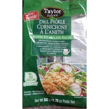 Taylor Farms Chopped Kit Dill Pickle