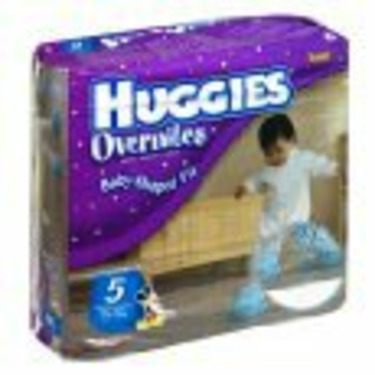 Huggies Overnites Diapers, Size 5, 27-Count (Pack of 2)