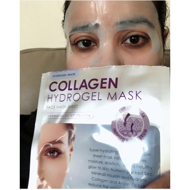Skin republic collagen hydrogel face mask