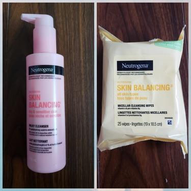 Neutrogena Skin Balancing Gentle Milk Cleanser for Dry and Sensitive Skin Types