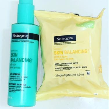 Neutrogena Skin Balancing Gentle Clay Cleanser for Oily Skin Type