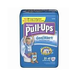 Huggies Pull-Ups Training Pants for Boys with Cool Alert, Jumbo Pack, Size 3T-4T 23 ea