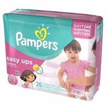 Pampers Easy Ups Training Pants reviews in Diapers
