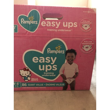 Pampers Easy Ups Training Pants