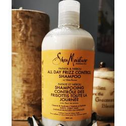 SHEA MOISTURE PAPAYA & NEROLI  ALL DAY FRIZZ CONTROL SHAMPOO W/ Elderflower