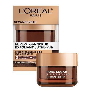 L'Oréal pure sugar face scrub
