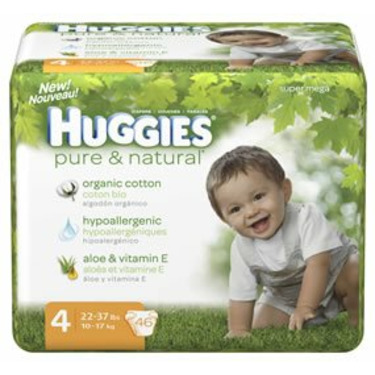 Huggies Pure & Natural Size 4 46ct