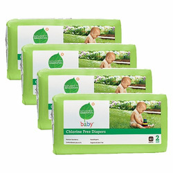 Seventh Generation Baby Diapers - Size 2 (160 Count)